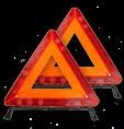 Elakadásjelző háromszögek