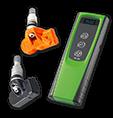Kódovač snímača tlaku v pneumatike