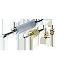Plniaci ventil a servisná prípojka klimatizácie